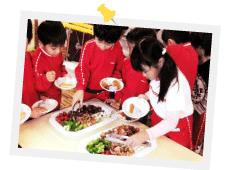 楽生保育園行事食04